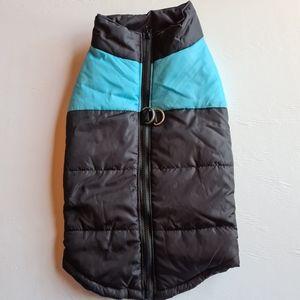 NWOT Pet Dog Warm Coat Jacket Blue Size 3XL